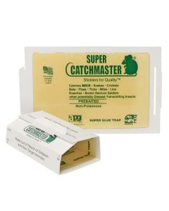 CATCHMASTER #72MB Super mouse glue board -peanut butter