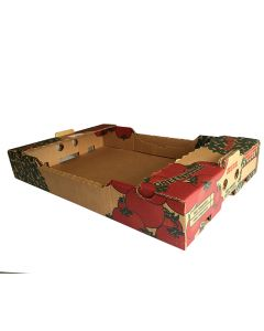 Flat box for greenhouse tomatoes (15lbs)