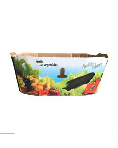 Cardboard for fruits & vegetables without handle