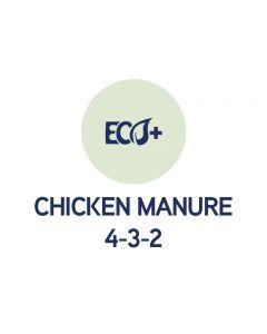 ECO+ Fertilizer Chicken manure 4-3-2