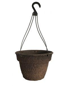 "ITML 12"" Fibergrow Wax Tough XL Hanging Basket with grommets"