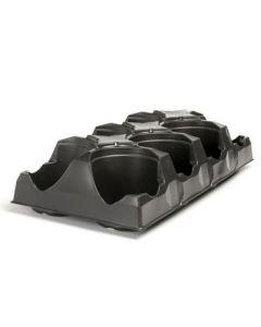 "Landmark Standard transport trays for 5"" round pot x 8 pockets"