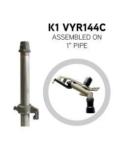 "VYRSA K1 VYR144C Sprinkler assembled on 1"" aluminium pipe"