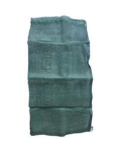 Green mesh bag for corn (unprinted)