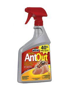 WILSON AntOut Insecticide contre les fourmis -Prêt à l'emploi 1 L